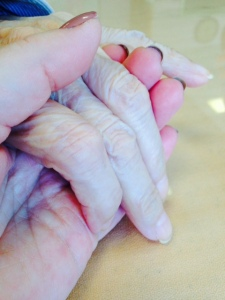 Our hands, January 2015
