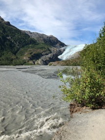 Glacial run-off